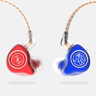 TFZ 锦瑟香也 KINGPRO 入耳式耳机 蓝红配