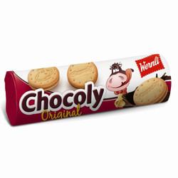 万恩利巧克力味夹心饼干250克 *10件