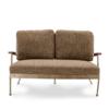 NK IVY 双人软包休闲椅 美式布艺沙发 2239元