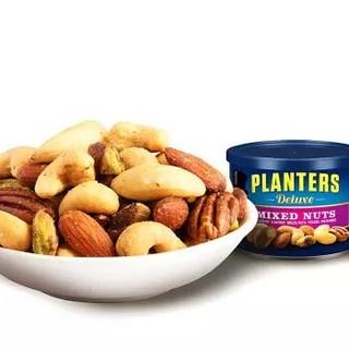 美国进口 绅士牌(Planters)精选混合坚果(巴旦木,腰果,榛子,碧根果,开心果)248g *8件