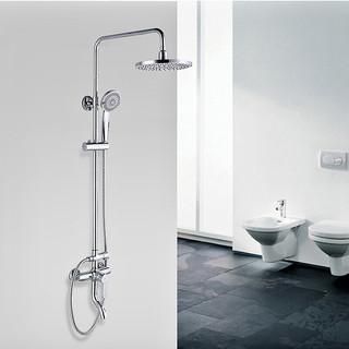 九牧(JOMOO)卫浴 单把硬管式淋浴花洒套装
