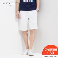 ME&CITY 549138 男士休闲短裤 (76A)