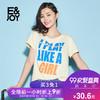 E&joy 8E082808721 女士T恤 (黄色、XS)