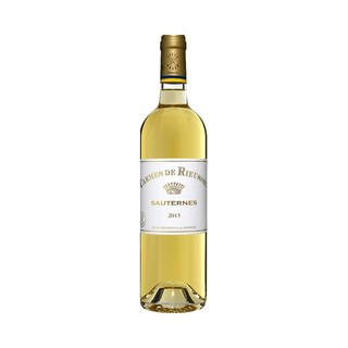 88VIP : CARMES DE Rieussec 拉菲丽丝 副牌 贵腐甜白葡萄酒 2014年 750ml *2件