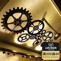Farmer's City 法慕小城 复古工业风齿轮装饰