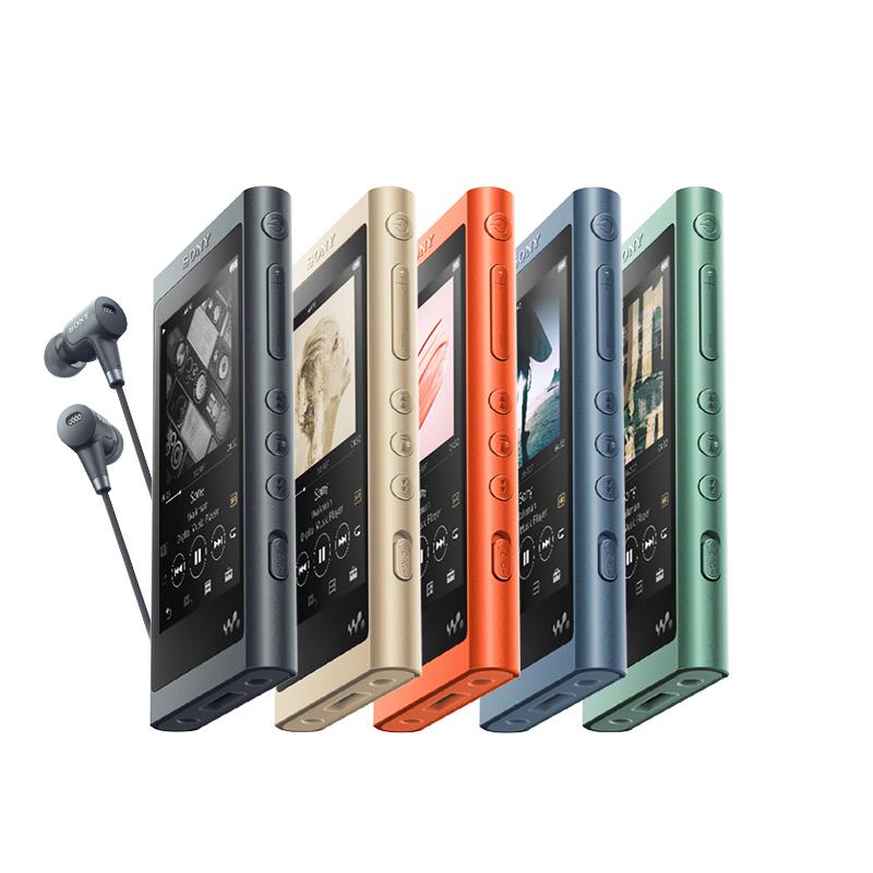索尼(SONY)NW-A55HN Hi-Res高解析度音乐播放器/MP3 16GB 附带耳机(灰黑)