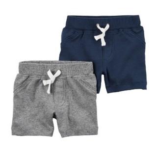 Carter's 夏季 新款男童全棉短裤 2条装
