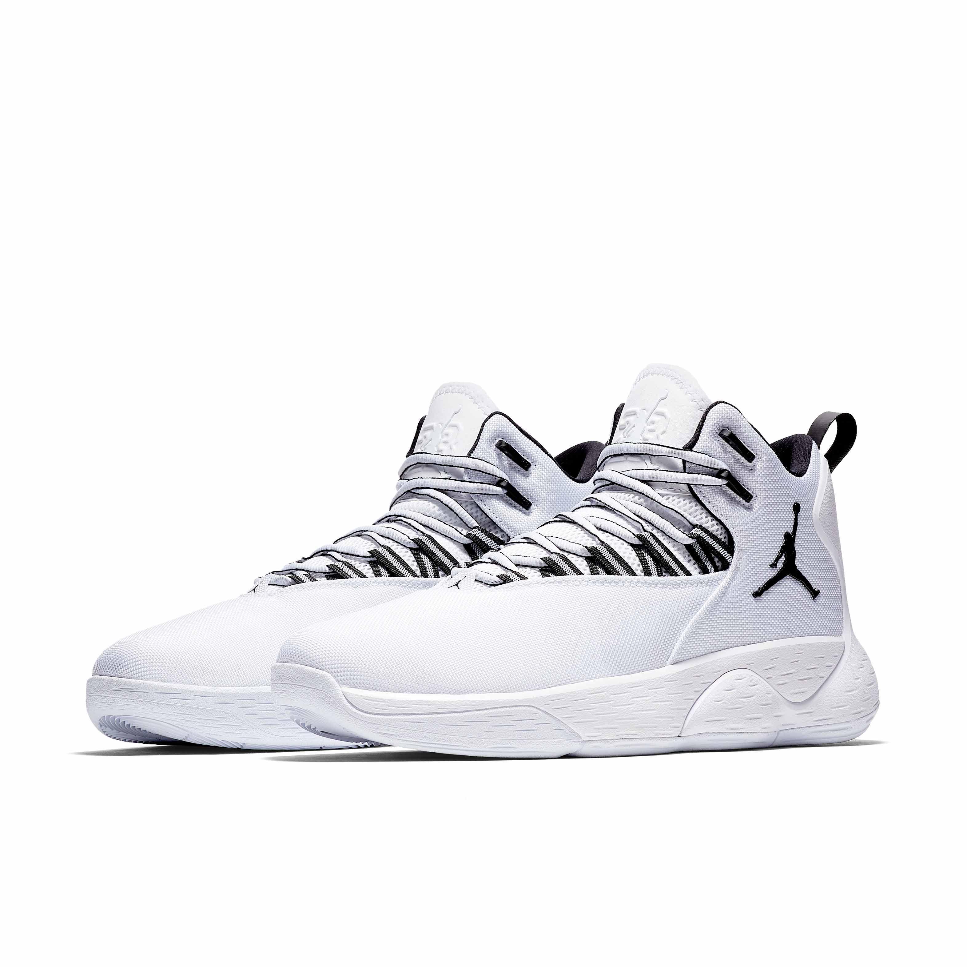 Jordan Brand SUPER.FLY MVP PF AR0038男子篮球鞋 (灰、46)
