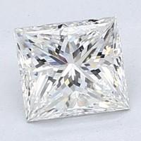 Blue Nile 0.82 克拉公主方形钻石(切割G/成色H/净度VVS2)