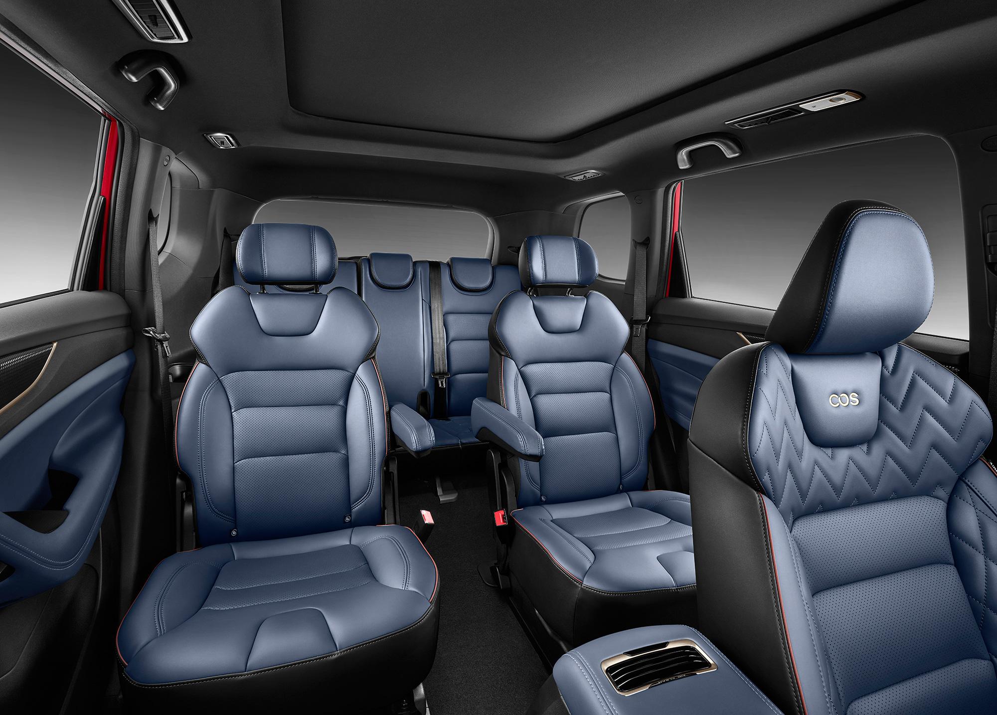 新车上市:欧尚品牌首款中型SUV――COS1° 售价9.38-14.58万元