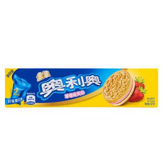 OREO 奥利奥 金装夹心饼干 (97g 、草莓味)