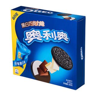 OREO 奥利奥 金装夹心饼干 (388g、黑白巧克力味)