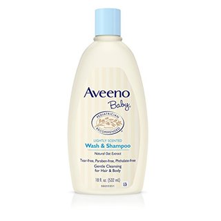 Aveeno 艾惟诺 每日倍护系列 婴儿洗发沐浴露二合一 532ml