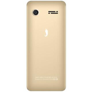 小辣椒 G103 直板按键老人手机 移动联通2G 金色 (金色、2GB以下、支持内存卡、移动联通2G)