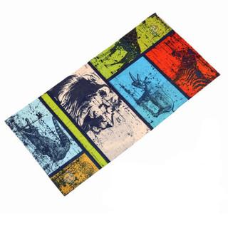 博沃尼克 魔术头巾脖套 户外运动头巾百变方巾吸湿排汗无缝围巾骑行头巾 3358花色(2件起售) *22件