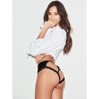 VICTORIA'S SECRET 11133892  背部流苏装饰性感半包臀内裤