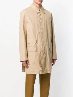 MARNI 男士中长款尖领大衣
