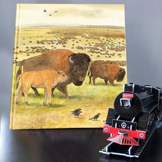 《北斗童书·凯迪克金奖绘本-火车头》