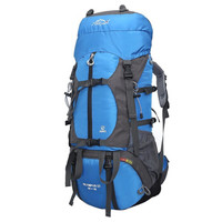 力开力朗(LOCAL LION)902 户外多功能登山包运动休闲双肩背包旅行包BH902蓝色 65L