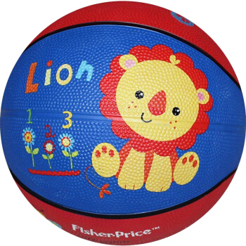 Fisher-Price 费雪 F0515 儿童玩具球 7寸 蓝色狮子款