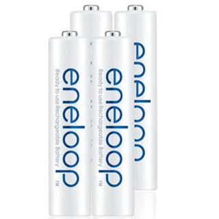 爱乐普(eneloop)充电电池7号七号4节高性能镍氢适用数码遥控玩具4MCCA/4W无充电器