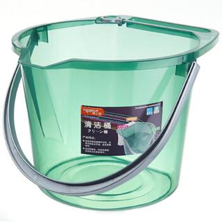 LONGSTAR 龙士达 L-1297 加厚塑料水桶 棕色