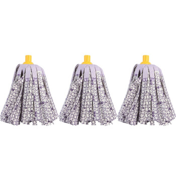 MIAOJIE 妙洁 6082 布质拖布头 吸水耐用型 替换装 3个装