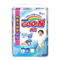 GOO.N 大王 婴儿拉拉裤 (L56片)