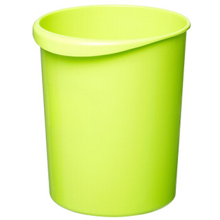 Jj 家杰 优品 塑料垃圾桶 圆形纸篓 12L 大号 厨房客厅卫生间通用 手提款 JJ-101