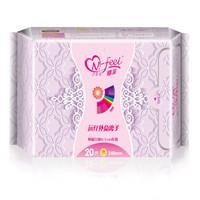 N-feel 娜菲 远红外负离子棉面卫生巾(日用)245mm*20片