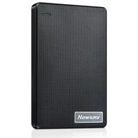 纽曼(Newsmy)120GB USB2.0 移动硬盘 清风 2.5英寸 风雅黑 文件数据备份存储 防滑耐磨 稳定耐用