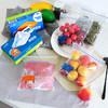 啦哄 PE加厚密实袋冷冻分类食品保鲜袋 自封袋 密封袋 冻吃袋盒式组合装