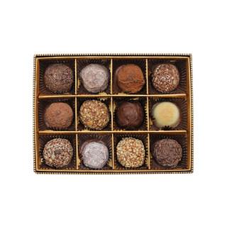 GODIVA 歌帝梵 松露形巧克力礼盒12颗装 (173g、混合口味)
