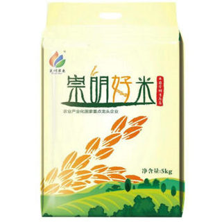 光明米业 崇明好米 大米 5kg