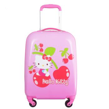 Hello Kitty 凯蒂猫  KTX009 女童行李箱儿童拉杆旅行箱 ( 粉色、 18寸)
