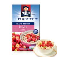QUAKER 桂格 燕麦片 草莓覆盆子味 282g