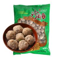 金锣 肉丸 珍料香菇贡丸 1kg