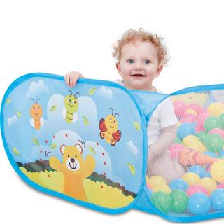 NUKIED 纽奇 儿童海洋波波球池 含投篮游戏池 动物世界图案  (不含球)