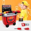 勾勾手GOUGOUSHOU)益智玩具 儿童过家家角色扮演 仿真工程师 工具手推车 *3件 151元(合50.33元/件)