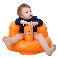 Doctor.Ma 马博士 婴儿多功能充气座椅(桔黄色) 22.5*6.30cm