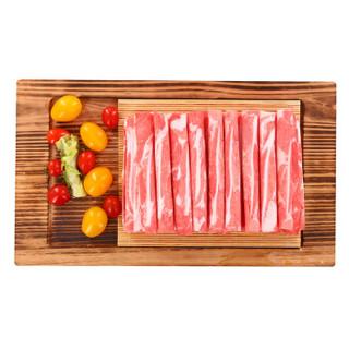 草原宏宝 内蒙古原切 羔羊脆骨羊肉片 500g/袋 国产无公害谷饲羊肉