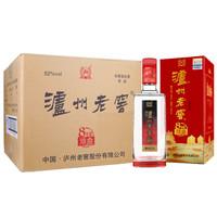 泸州老窖 八年窖头曲 祥品 52度 浓香型白酒 500ml*6瓶 整箱装
