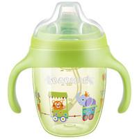BABISIL 贝儿欣 BS5222 宝宝水杯双手柄梦幻乐园 (210ml、绿色)