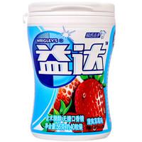 Extra 益达 无糖口香糖 清爽草莓味 56g