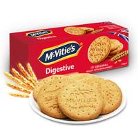 Mcvitie's 麦维他 全麦消化饼干 原味 120g