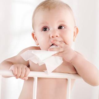 PurCotton 全棉时代 婴儿纯棉湿巾 (25片/袋 4袋/提)