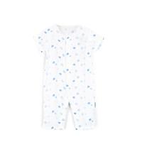 PurCotton 全棉时代 婴幼儿纱布短袖连体服 *2件