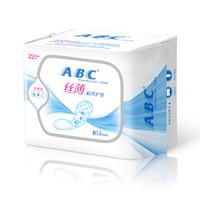 ABC KMS棉柔系列 丝薄棉柔 卫生护垫 163mm 22片