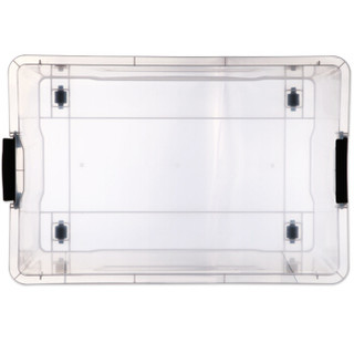 清野の木 明澈系列 塑料收纳箱 56L*3个