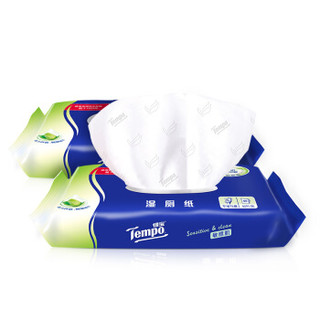 Tempo 得宝 敏感性肌肤 湿厕纸  40片装